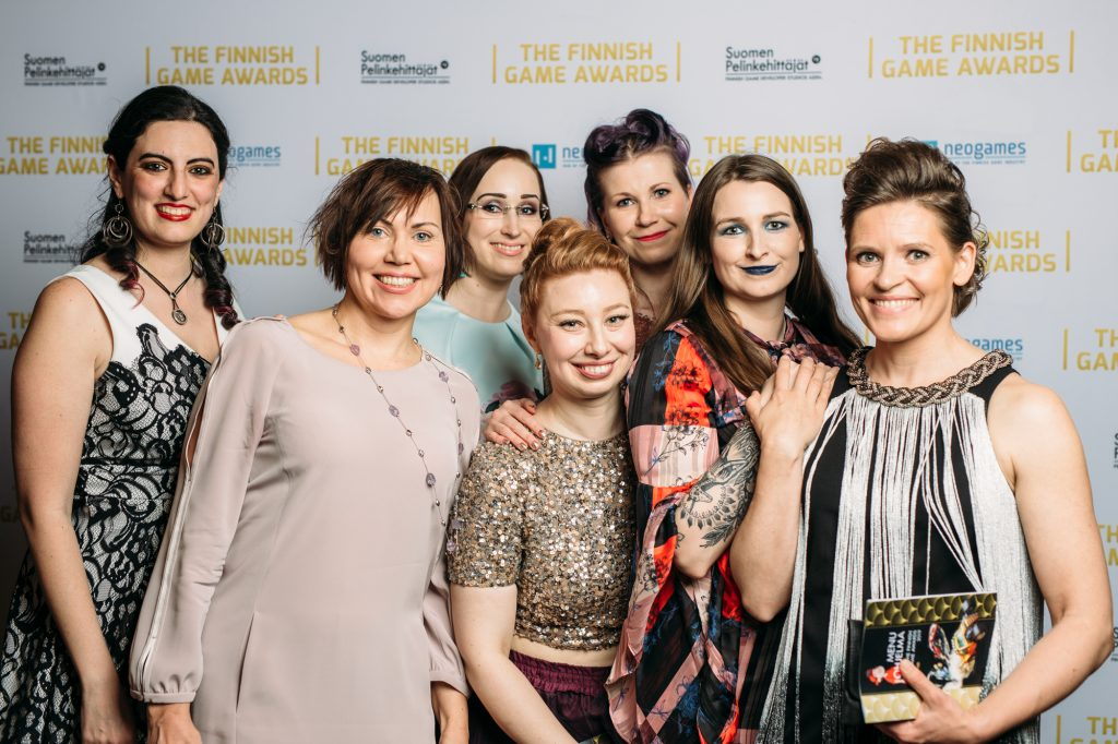 Women in Games Finland ry Finnish Game Awards 2019